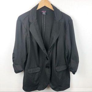 Torrid black blazer size 2